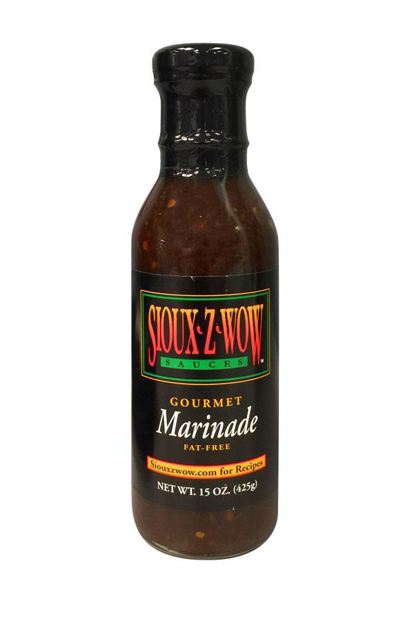 1 Pack - Sioux Z Wow Gourmet Marinade