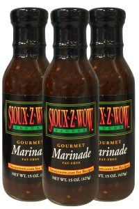 3 Pack - Sioux Z Wow Gourmet Marinade