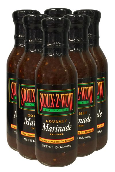 6 Pack - Sioux Z Wow Gourmet Marinade